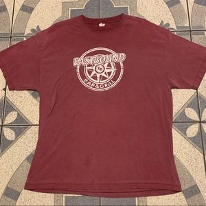 Eastbound Bar & Grill Logo Spellout Graphic Tee XL